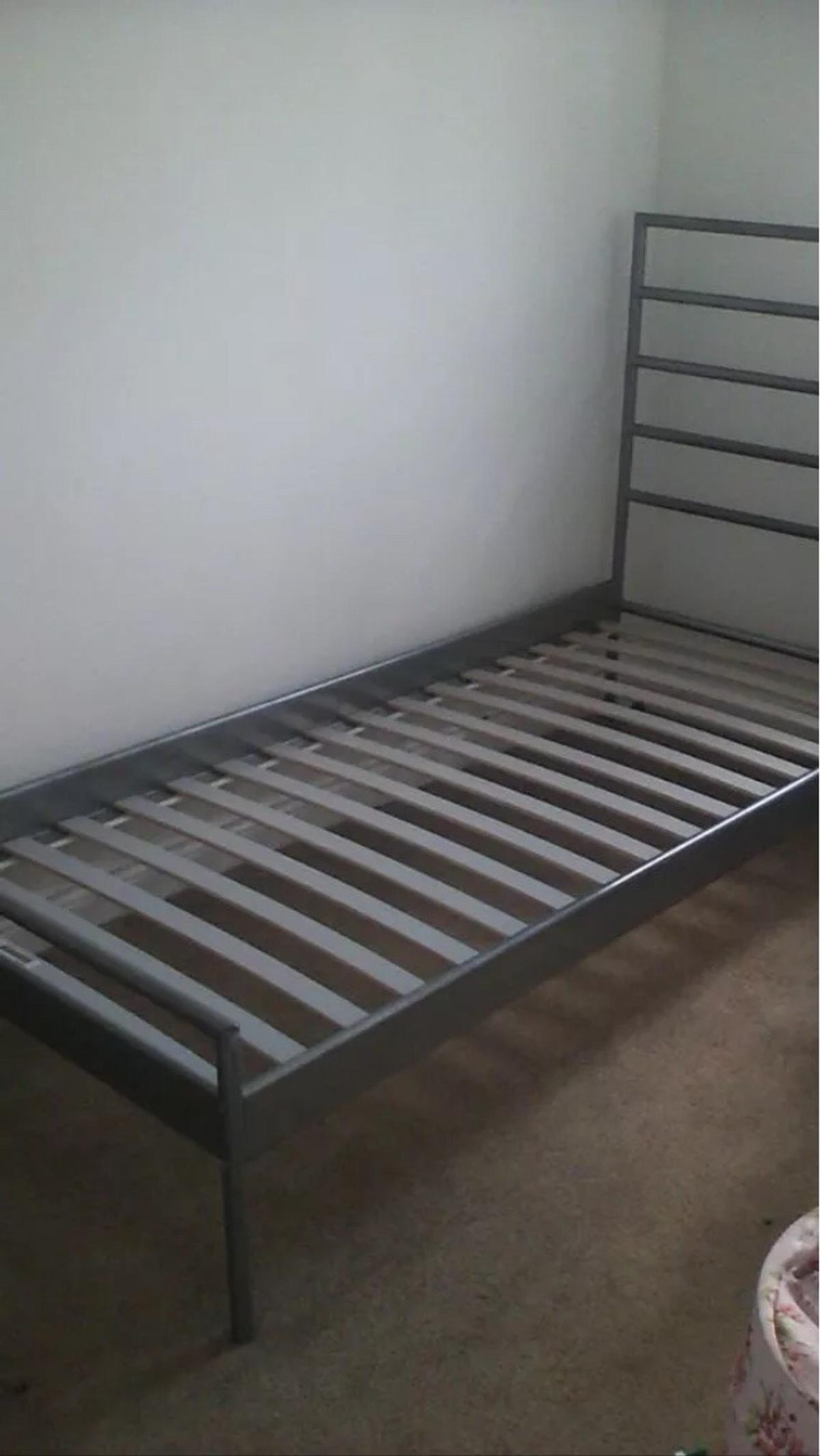 Ikea Single Bed Metal Frame And Slats In Ne24 Seaton For 20 00 For Sale Shpock
