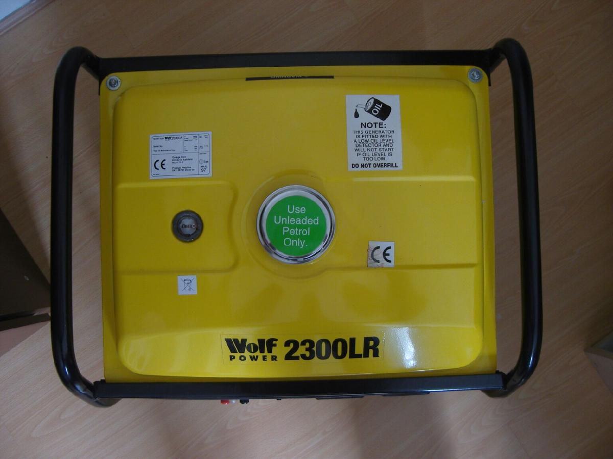WOLF POWER GENERATOR 2300 LR in N20 London for £140 00 for sale - Shpock