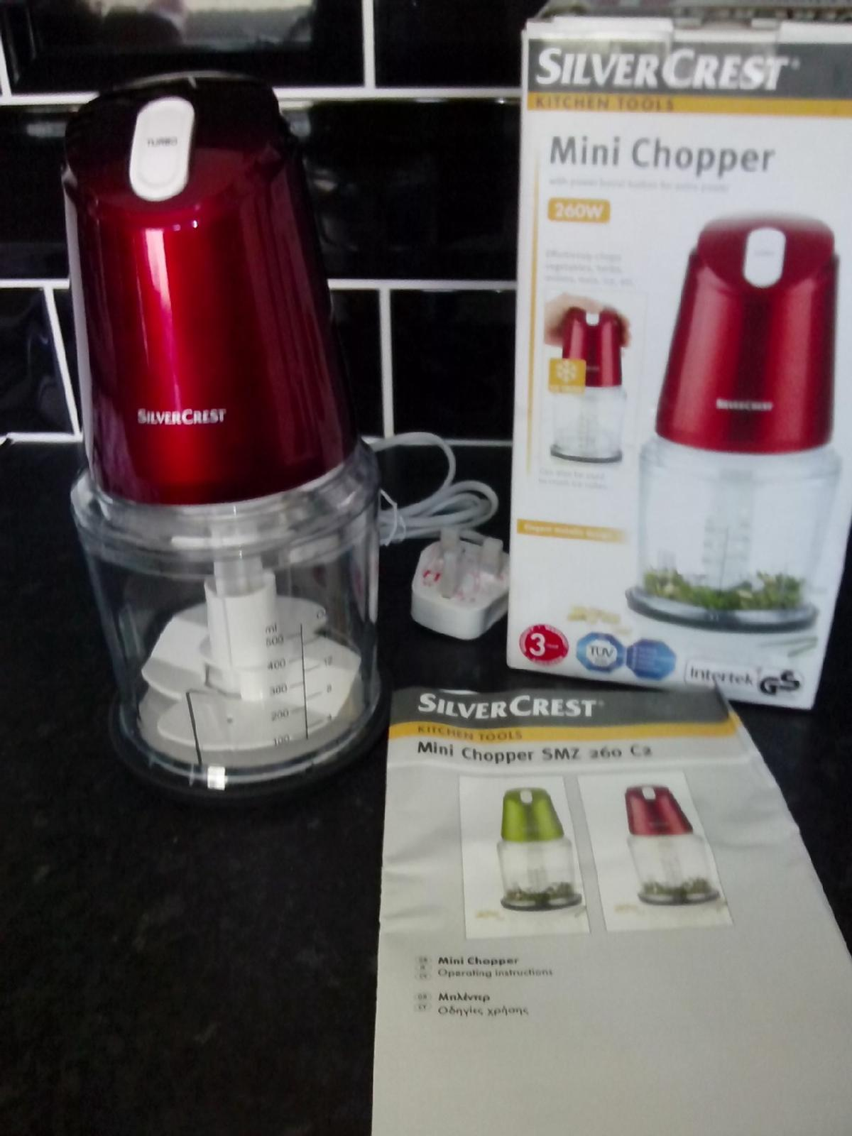 New  silver crest mini chopper  in TS Middlesbrough for £6 99 for