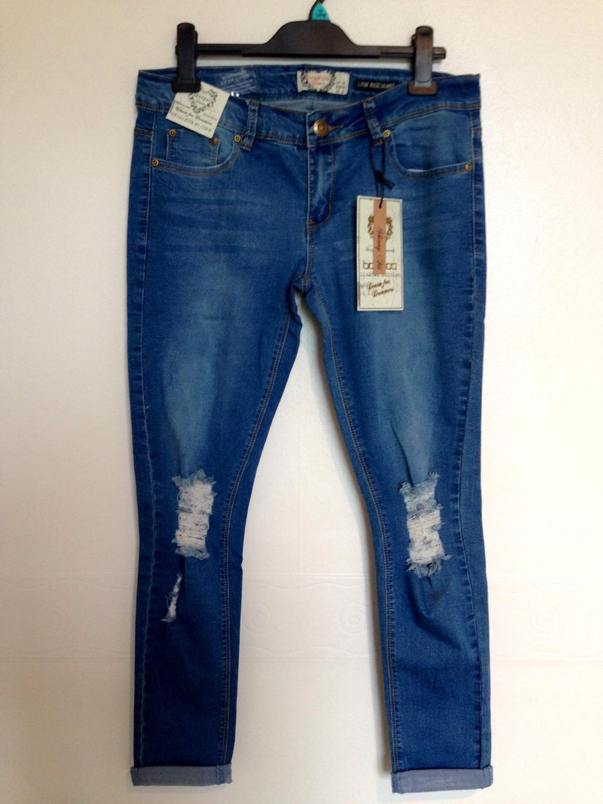 1d9900f1b14 New Loren Distressed Rip Knee Skinny Jeans in Bolton for £15.00 for ...