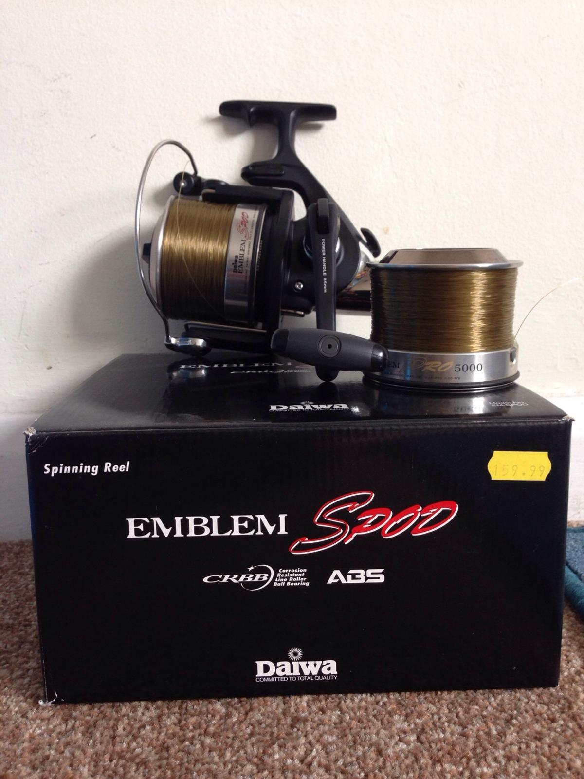 daiwa emblem spod reel mint condition L@@K