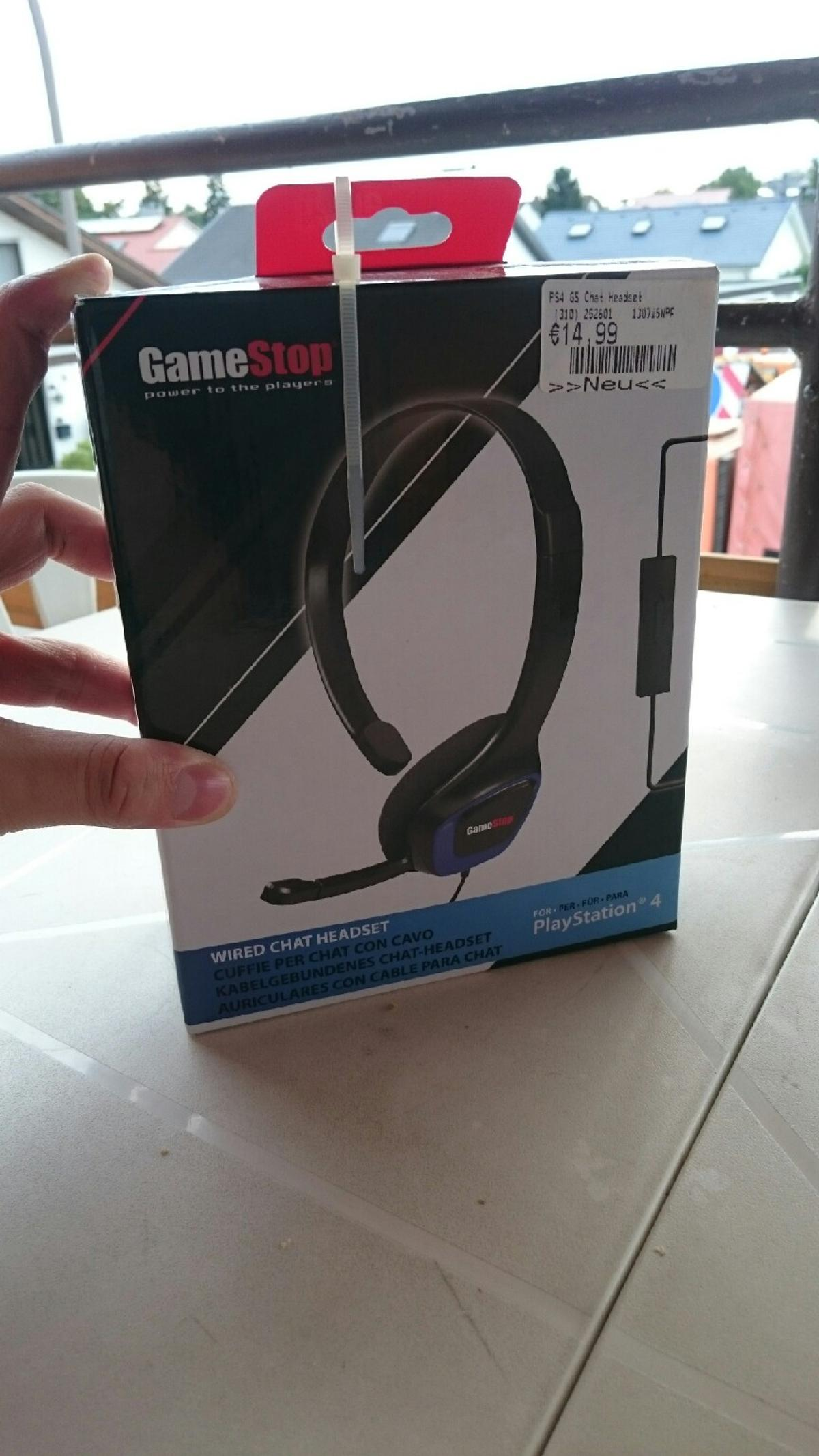 Ps4 Headset vom GAMESTOP in 68766 Hockenheim for €14 99 for sale