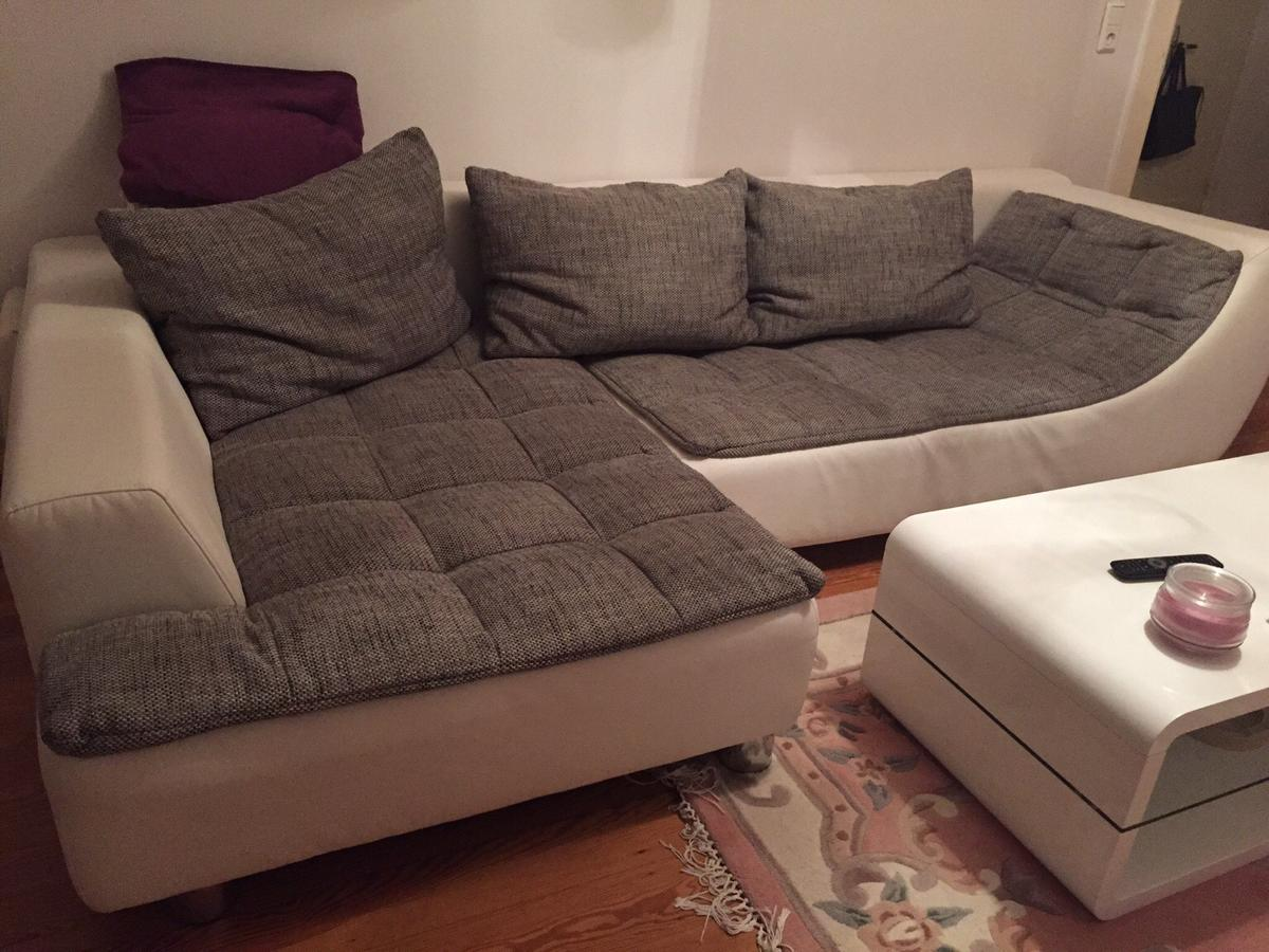 Eckcouch In Weiss Grau In 22303 Hamburg For 200 00 For Sale Shpock
