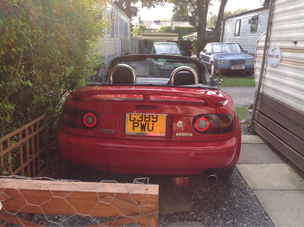 Mazda Mx5 Mk1 Eunos Roadster G Reg Classic In Pr25 Ribble For 600 00 For Sale Shpock