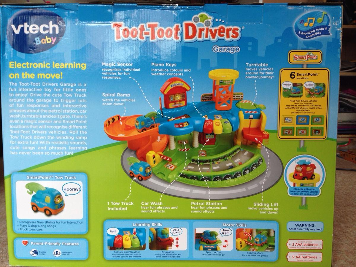 vtech toot toto drivers garage in NP4 Pontypool for £30 00 for sale