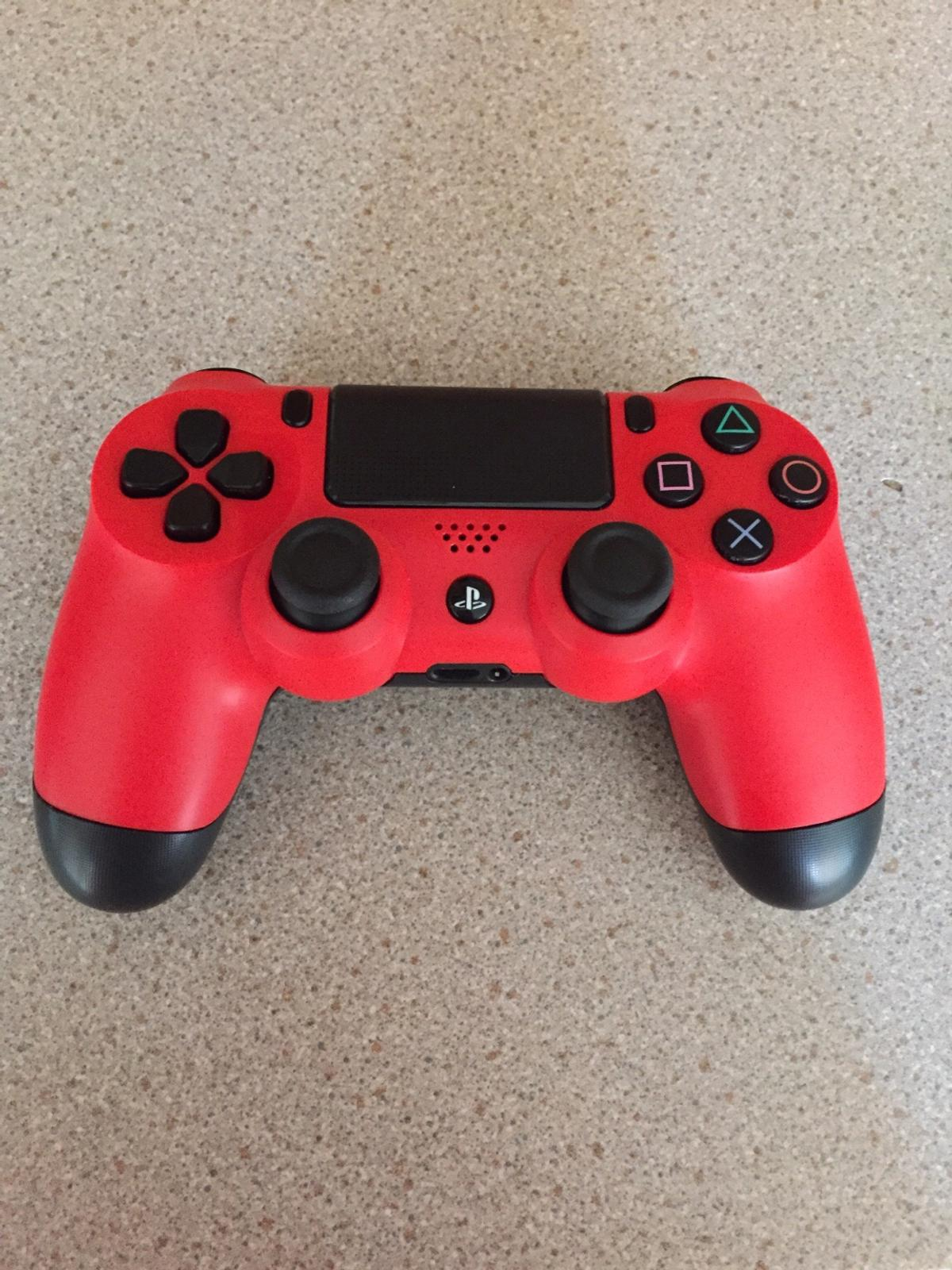 Refrubished PS4 Controller Red/Black