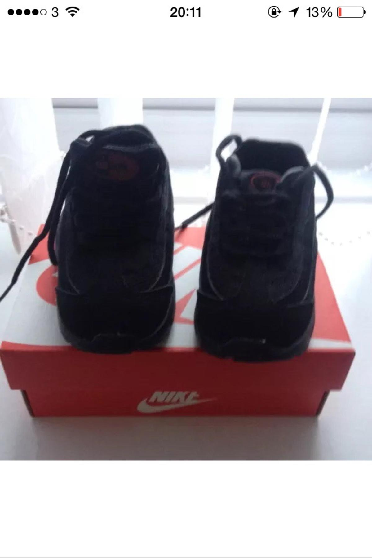 new products a8495 9d832 Description. Beautiful pair of baby boys Nike 95 air max trainers.