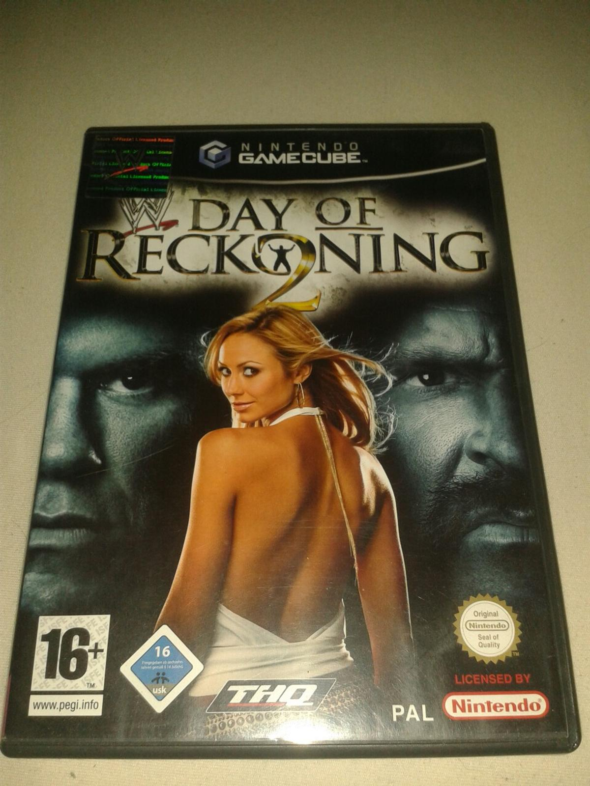 Gamecube WWE Day of Reckoning 2