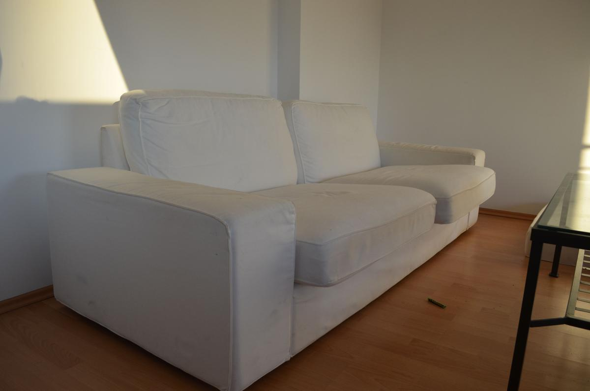 Ikea Kivik 2er Sofa Couch Weiss In 40233 Dusseldorf For 50 00 For Sale Shpock
