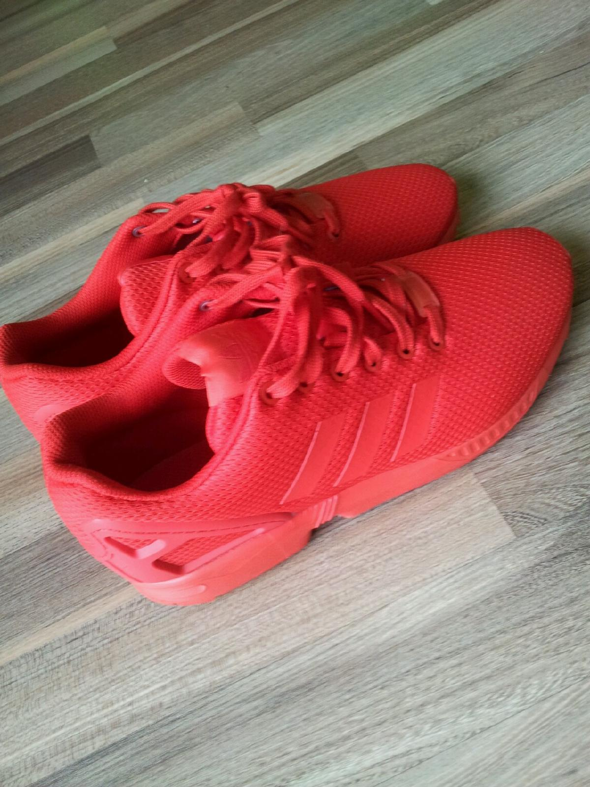 €91 00 for for All in ZX Flux Red 42 Adidas 53840 Troisdorf 1JuclFK35T