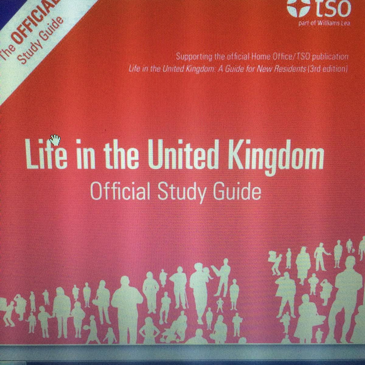 Life In The Uk Test 2014 Book