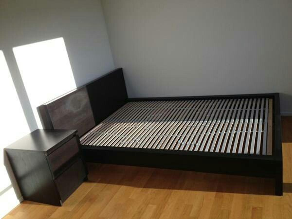 Ikea Malm Bett Schwarzbraun 160x200 In 45128 Essen For 30 00 For Sale Shpock