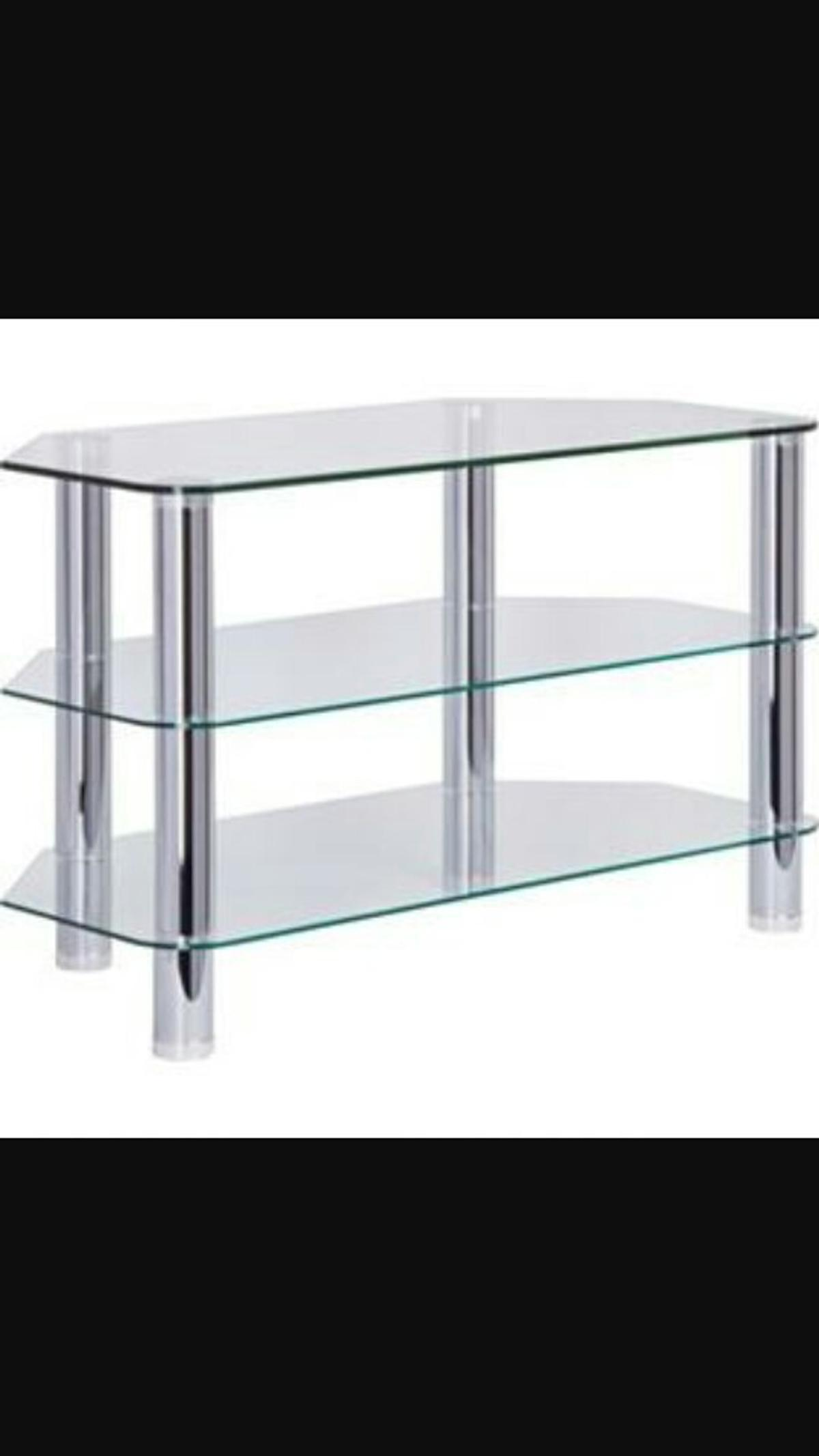 new concept 92f16 20bbe Matrix hygena glass TV unit