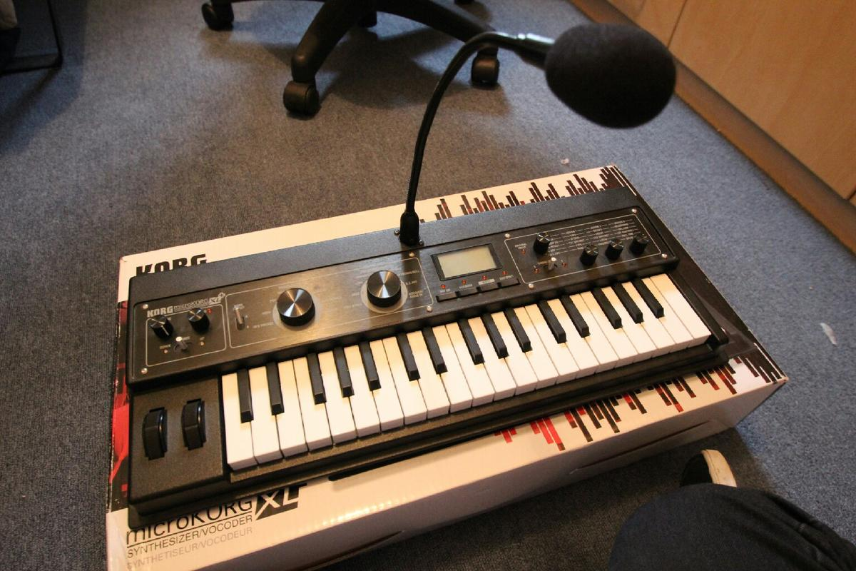 Korg MicroKorg XL plus Synthesizer/Vocoder in PR1 Preston