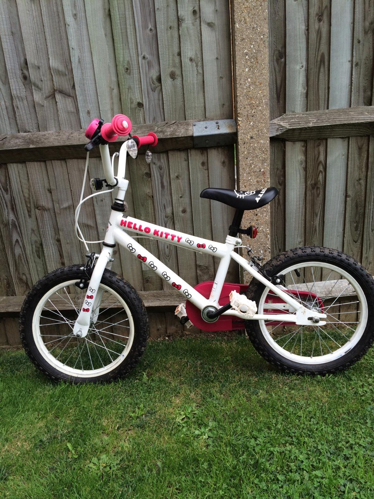 Girls Hello Kitty 16 Inch Bike In Cm18 Harlow For 500 For Sale