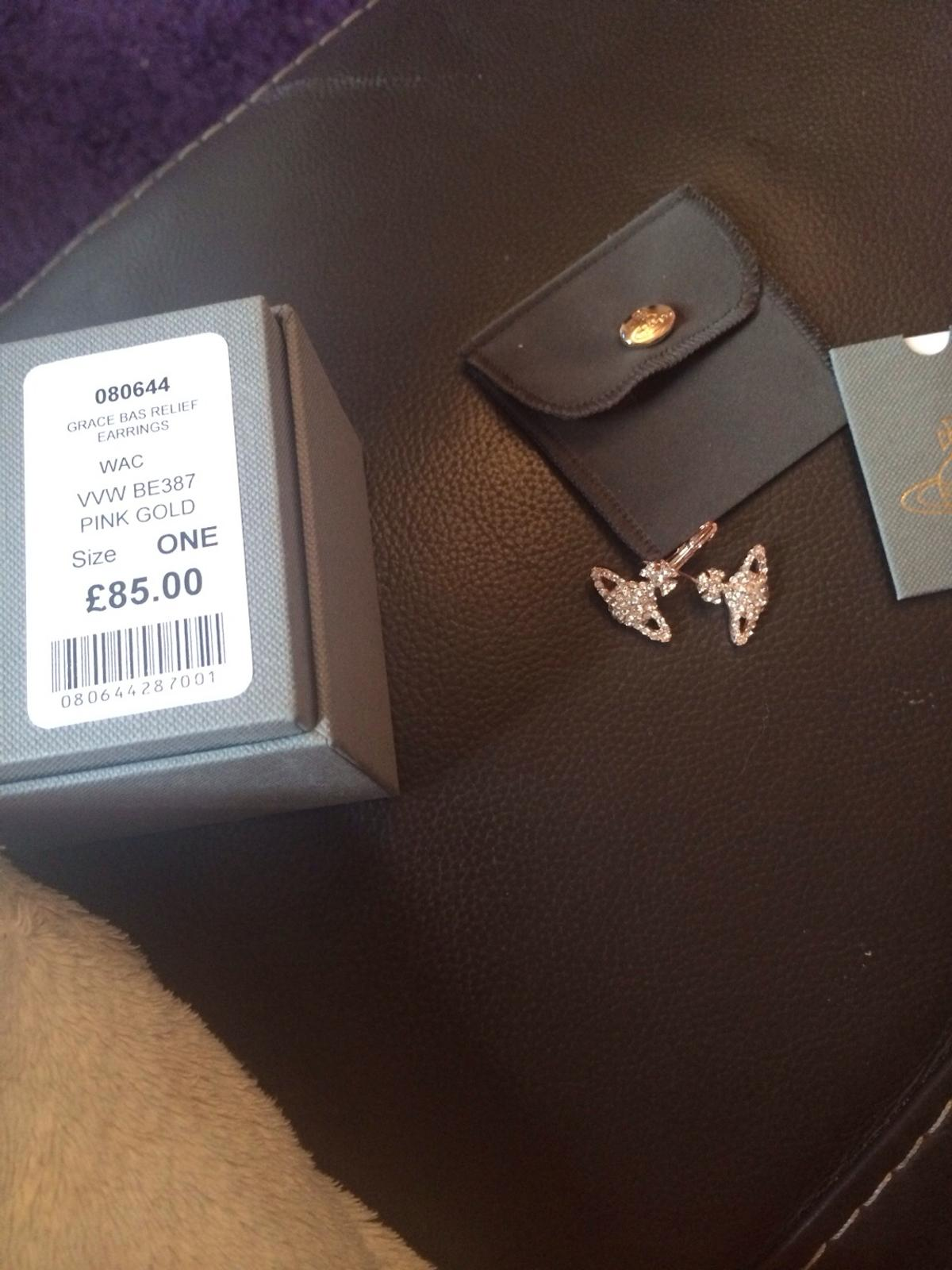 e7945aff96 genuine not fake Vivienne Westwood earrings in Walsall for £10.00 ...