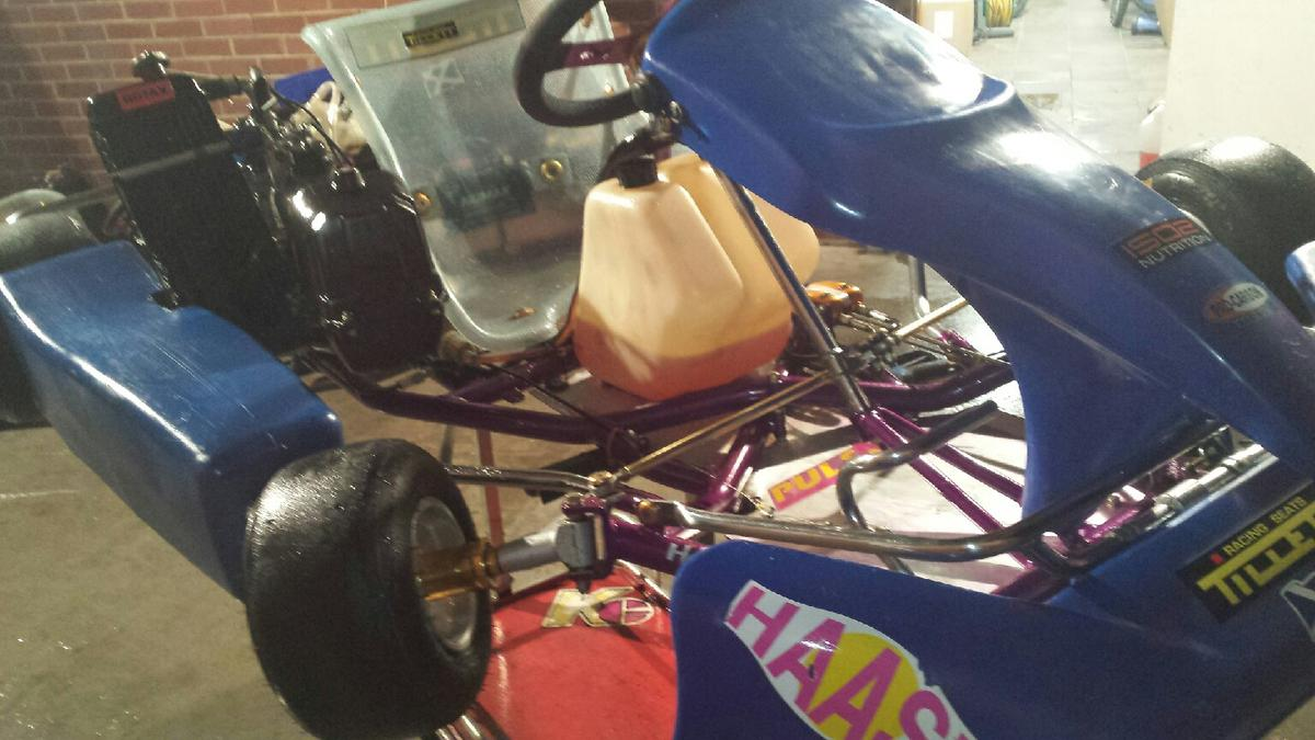 HAAS ROTAX MAX SENIOR KART in SY5 Minsterley for £799 00 for sale