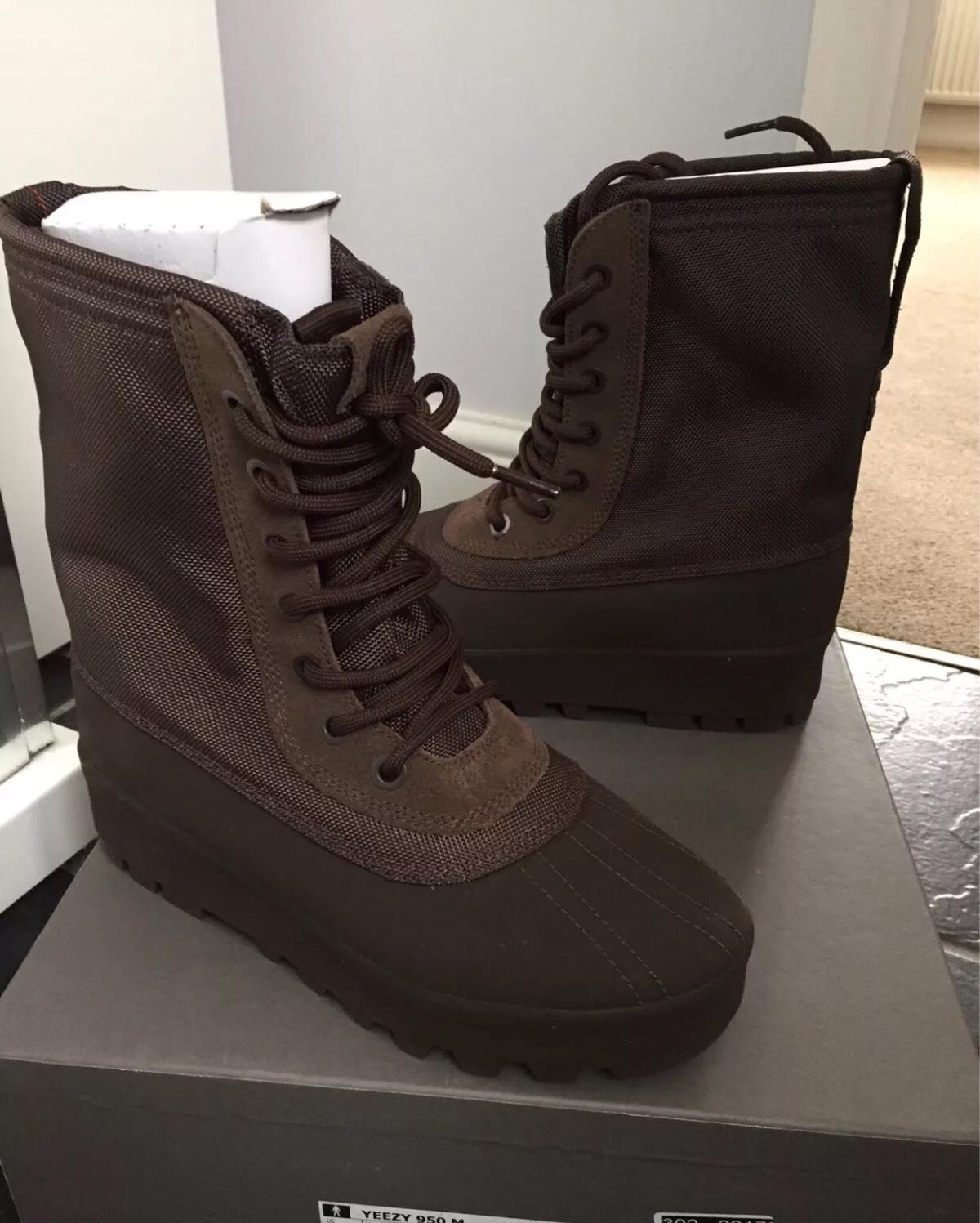 check out 4a062 e8d06 ADIDAS YEEZY 950 M BOOTS BROWN KANYE TRAINERS in KT2 London ...