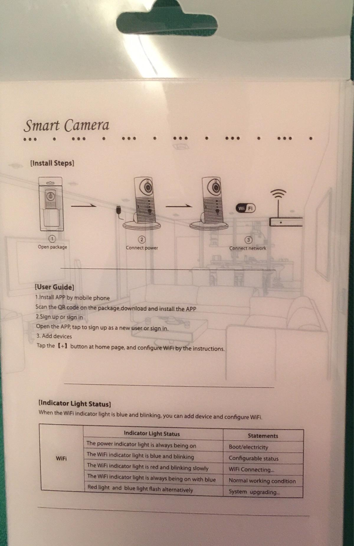Home CCTV Camera wd WIFI (Clever Dog Camera) in M30 Salford for