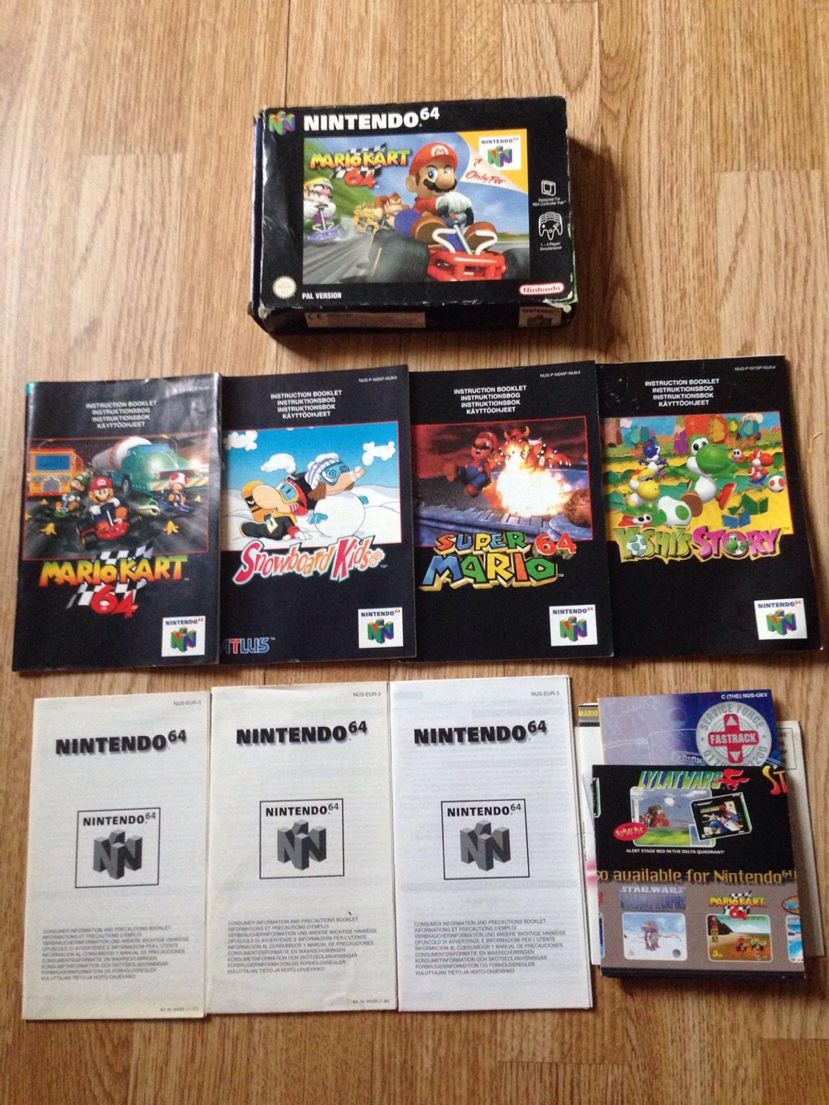 Nintendo 64 N64 Game Case And Manuals In Nw7 London For 10 00 For Sale Shpock