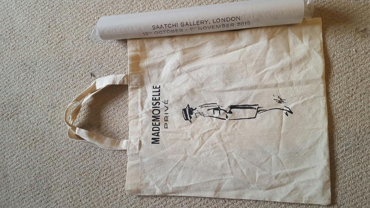 1795705ee456 CHANEL mademoiselle prive tote bag & poster in E16 London for £5.00 ...