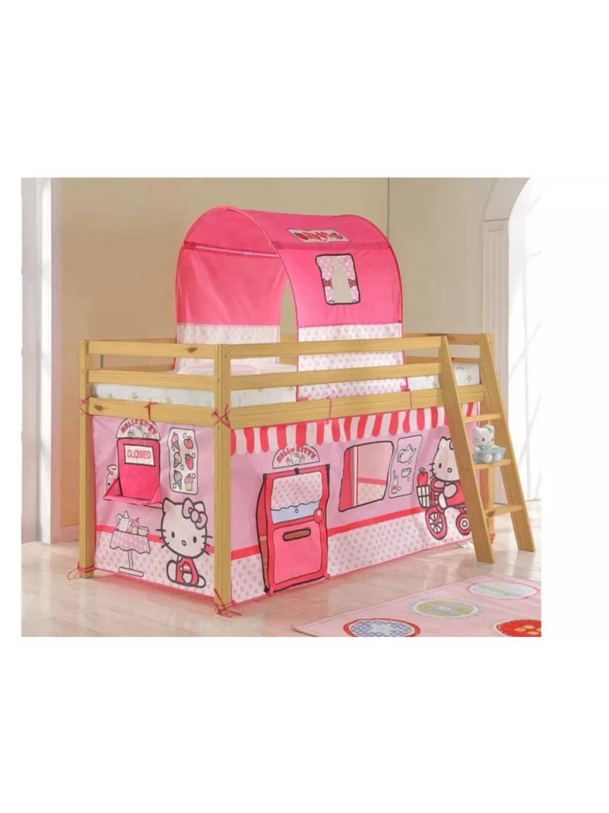 Picture of: Hello Kitty 1 9m Mid Sleeper Bed Tent In Rm16 Stifford For 45 00 For Sale Shpock