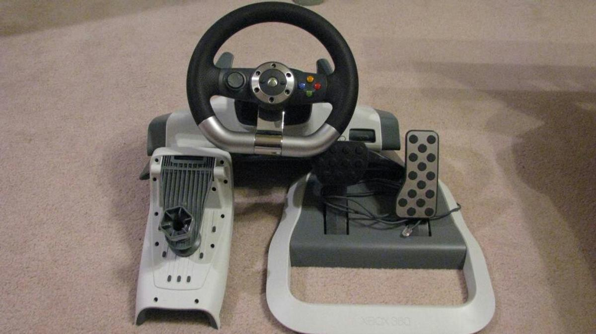 77bd0491019 xbox 360 steering wheel in DL5 Aycliffe for £40.00 for sale - Shpock