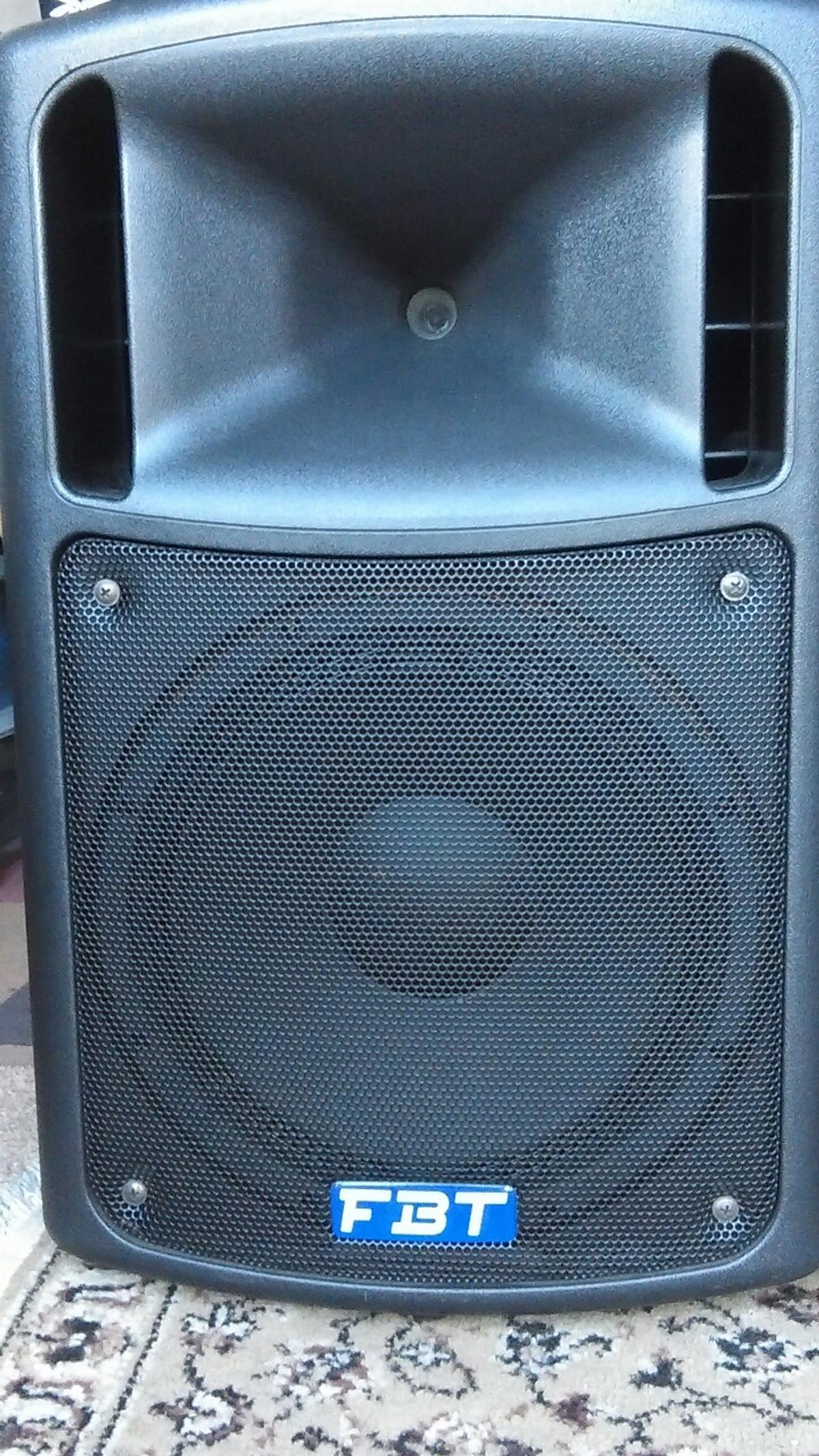 FBT MaxX 4a speakers + Covers in BA12 Warminster for £500 00