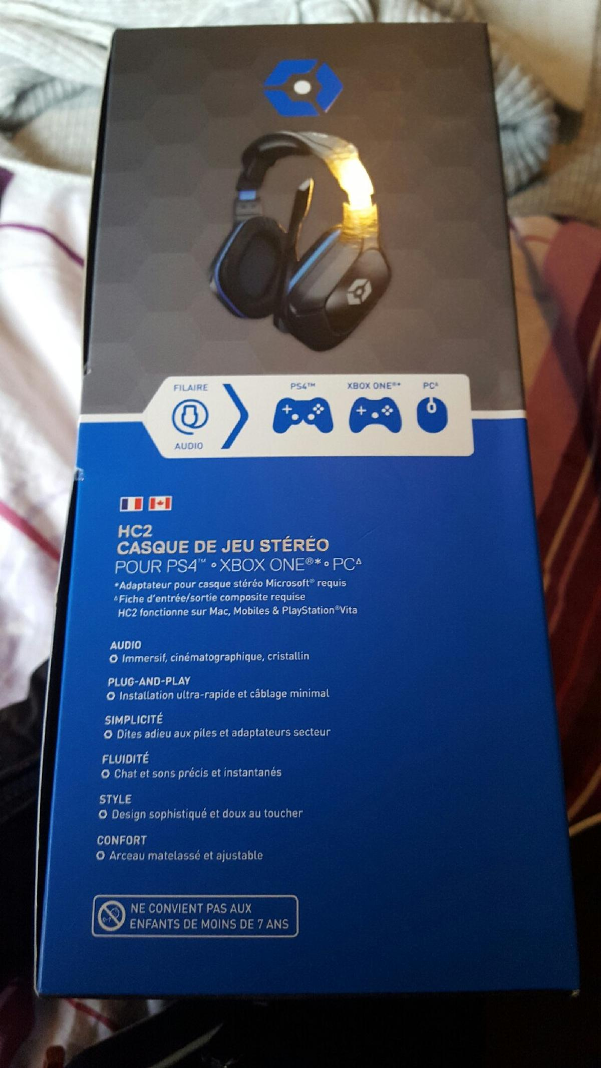 HC2 GAMING HEADSET ps4xbox one pc