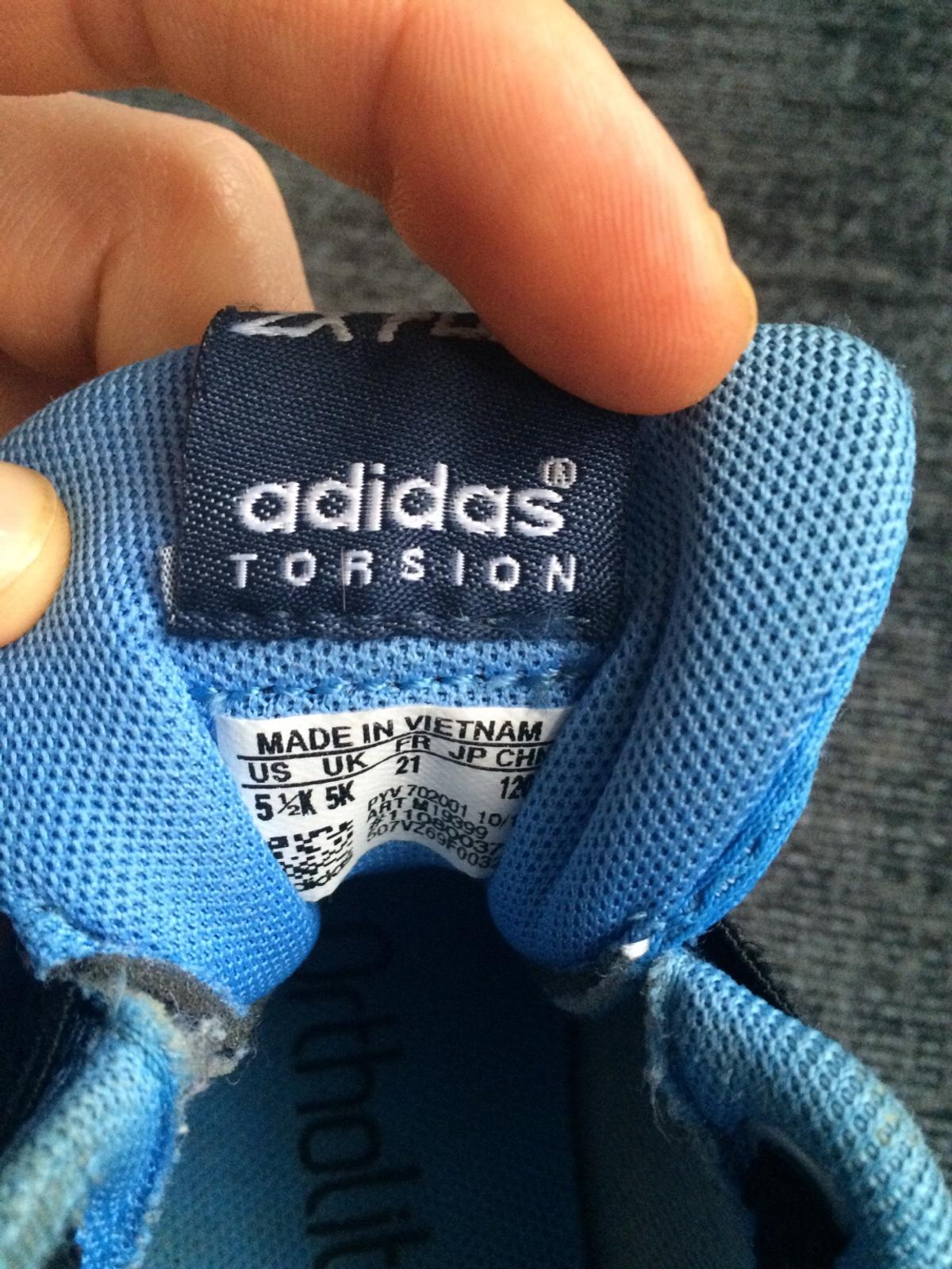 1b61f65ce36ff Adidas zx flux torsion kids uk5 good conditio in Beckbury for £13.00 ...