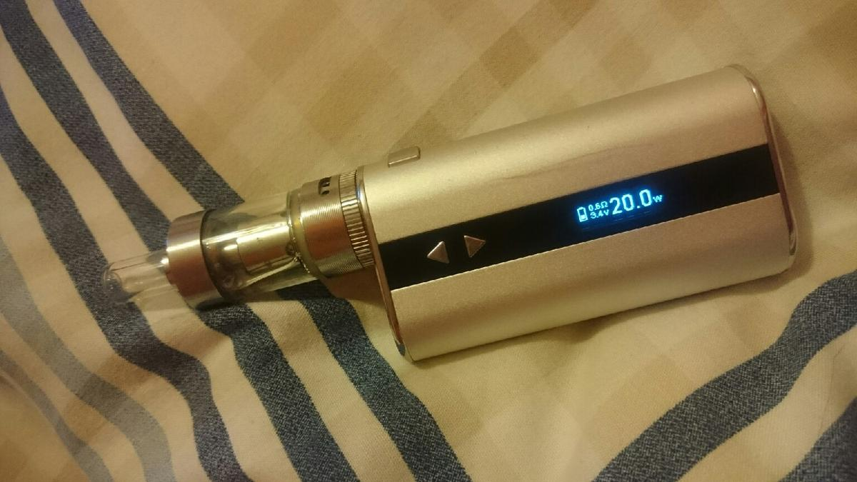 IStick 50w with Totally Wicked Sub Air Tank