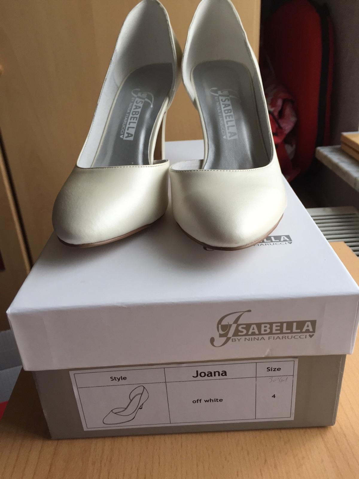 low priced d5cae 76548 Brautschuhe Isabella by Nina Fiarucci Gr. 37 in 67294 ...