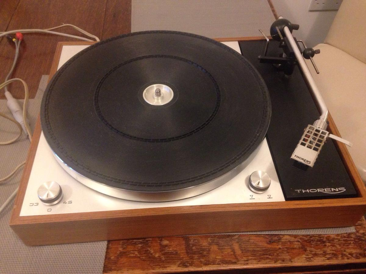 Thorens TD150 mkII turntable, boxed in E10 London for