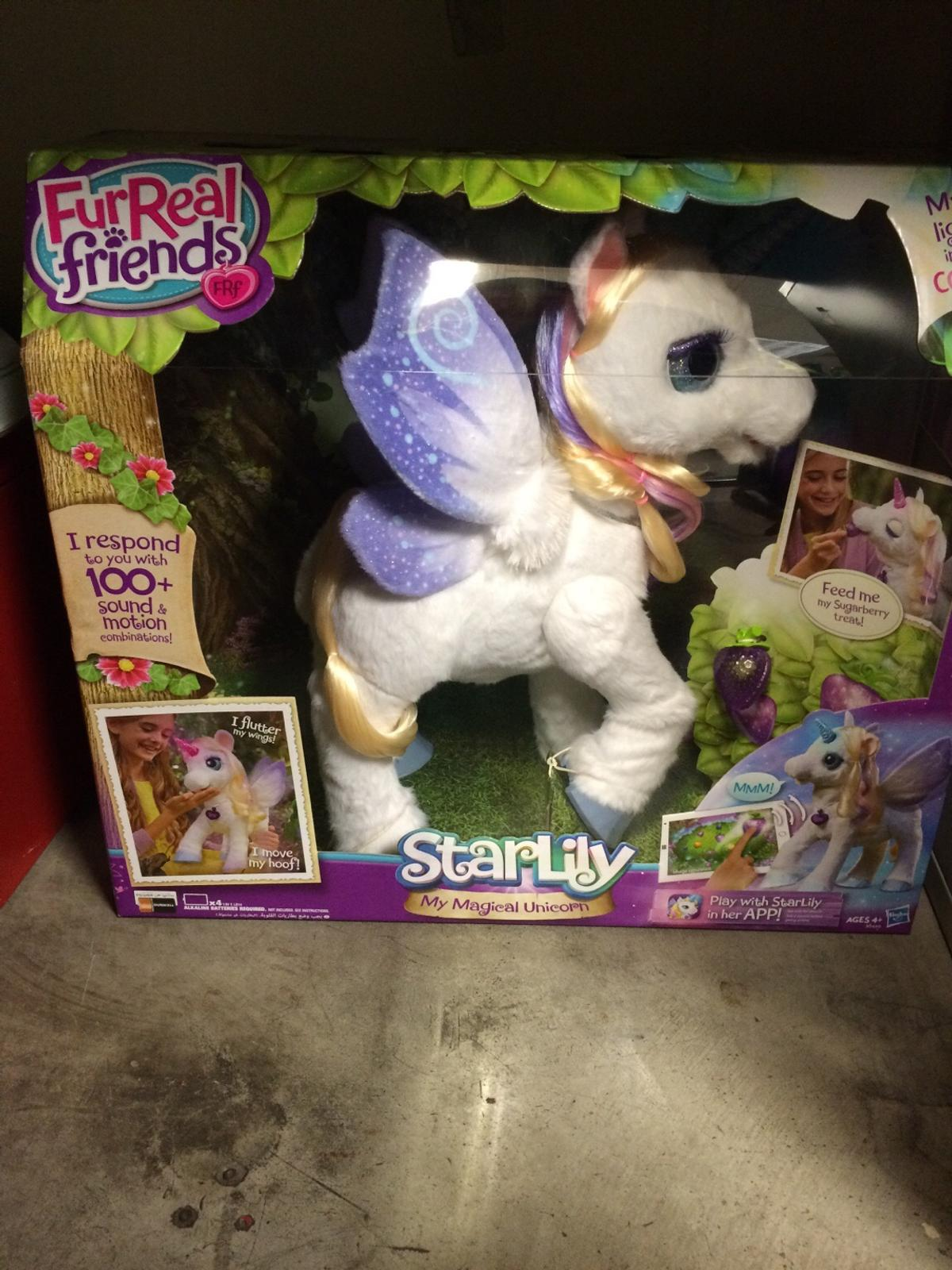 Fur Real Friends Star Lily Magical Unicorn