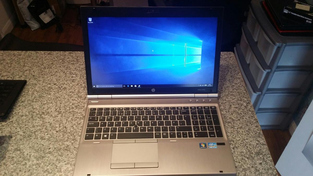HP Elitebook 8570p Laptop i7 in CH65 Port for £499 00 for