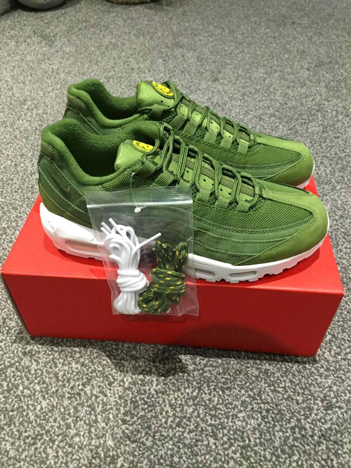 meet ced4b 15491 Stussy x Nike Air Max 95 Olive Green in RM11 London for ...