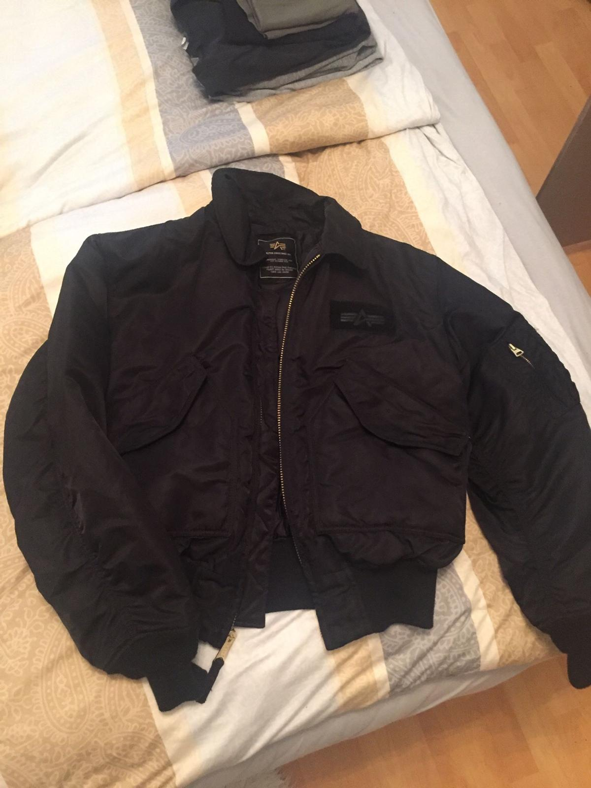 Alpha Industries Bomber Jacke