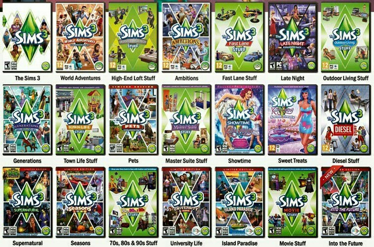 Sims 3 Complete Collection PC/MAC - Digital