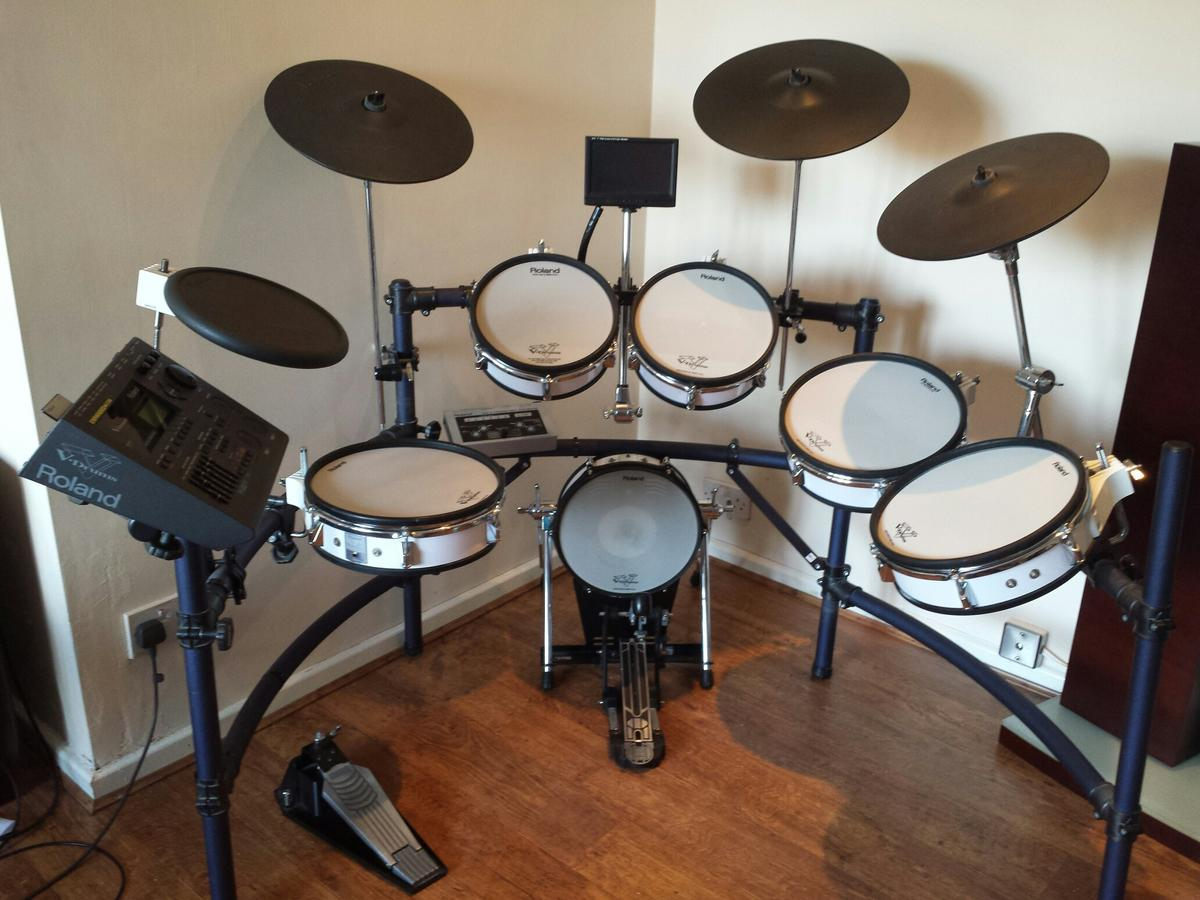 Roland V Drum Kit TD10 With TDW-1 Expansion