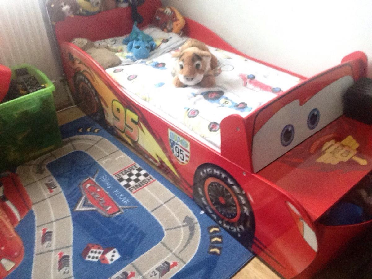 Disney Cars Bett Kinderbett 70x140
