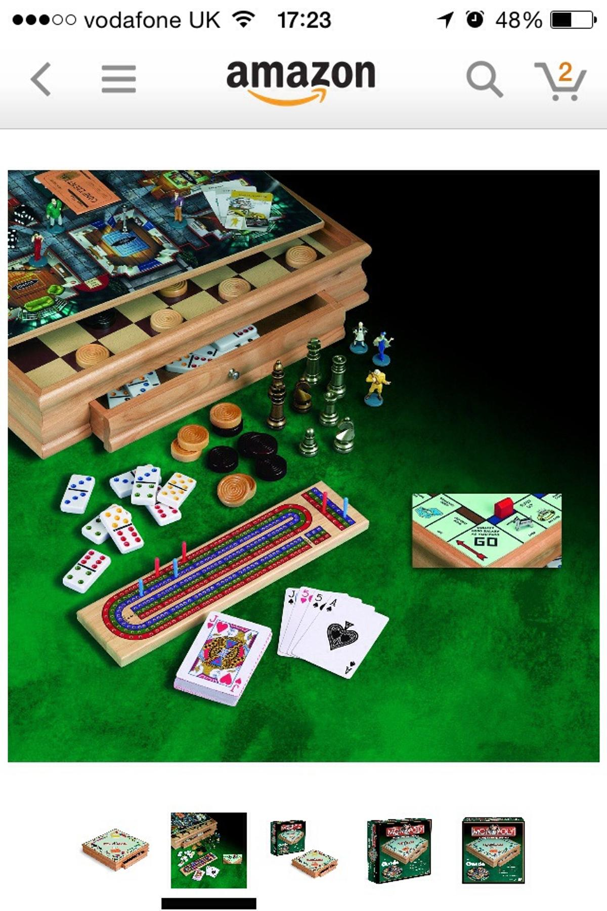 Monopoly Cluedo Wooden Board Game Bnib In Wn8 Lancashire For