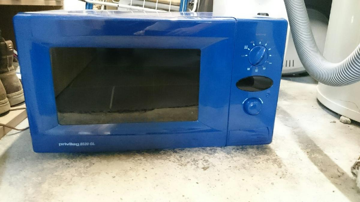 Mikrowelle Blau 10 Euro In 25764 Norddeich For 1000 For Sale