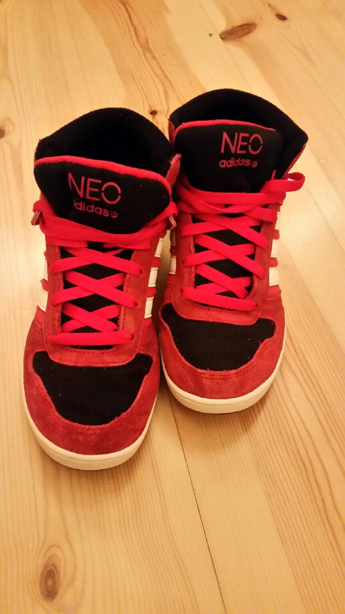 new arrival 63f61 cd704 ADIDAS NEO Schuhe rot