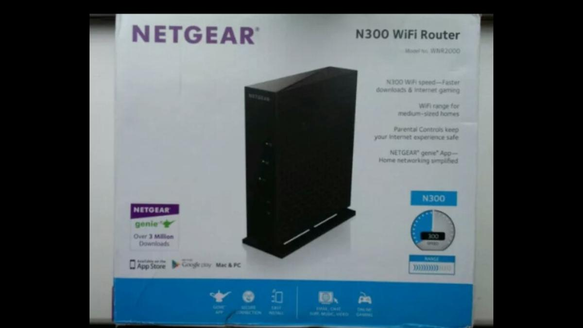 NETGEAR WNR 2000 v5 N300 Wireless Router in M29 Wigan for