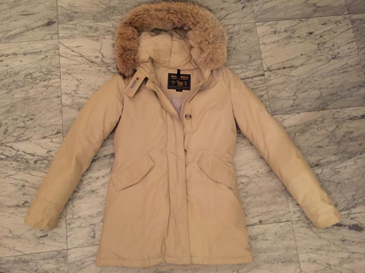 8145329a8e WOOLRICH parka donna beige S in 50018 Scandicci for €300.00 for sale ...