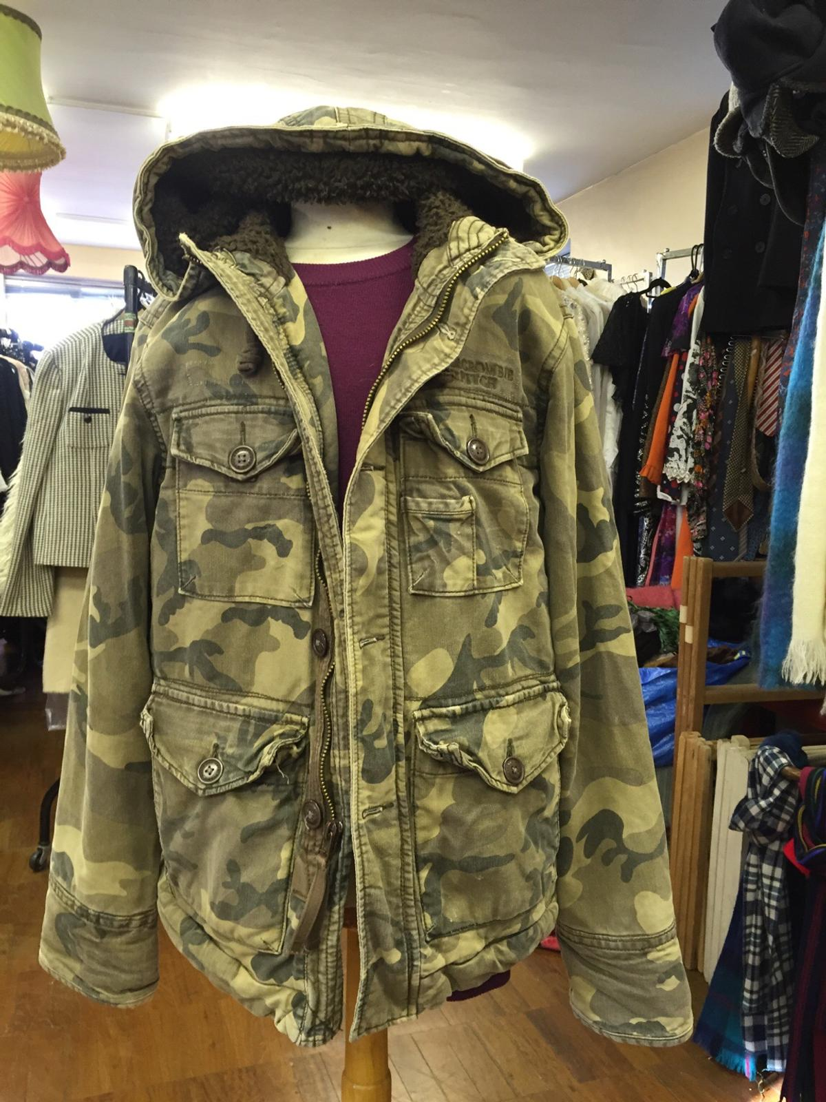 0ca06171e32e7 Men's Abercrombie and Fitch camouflage jacket in CR0 London for ...