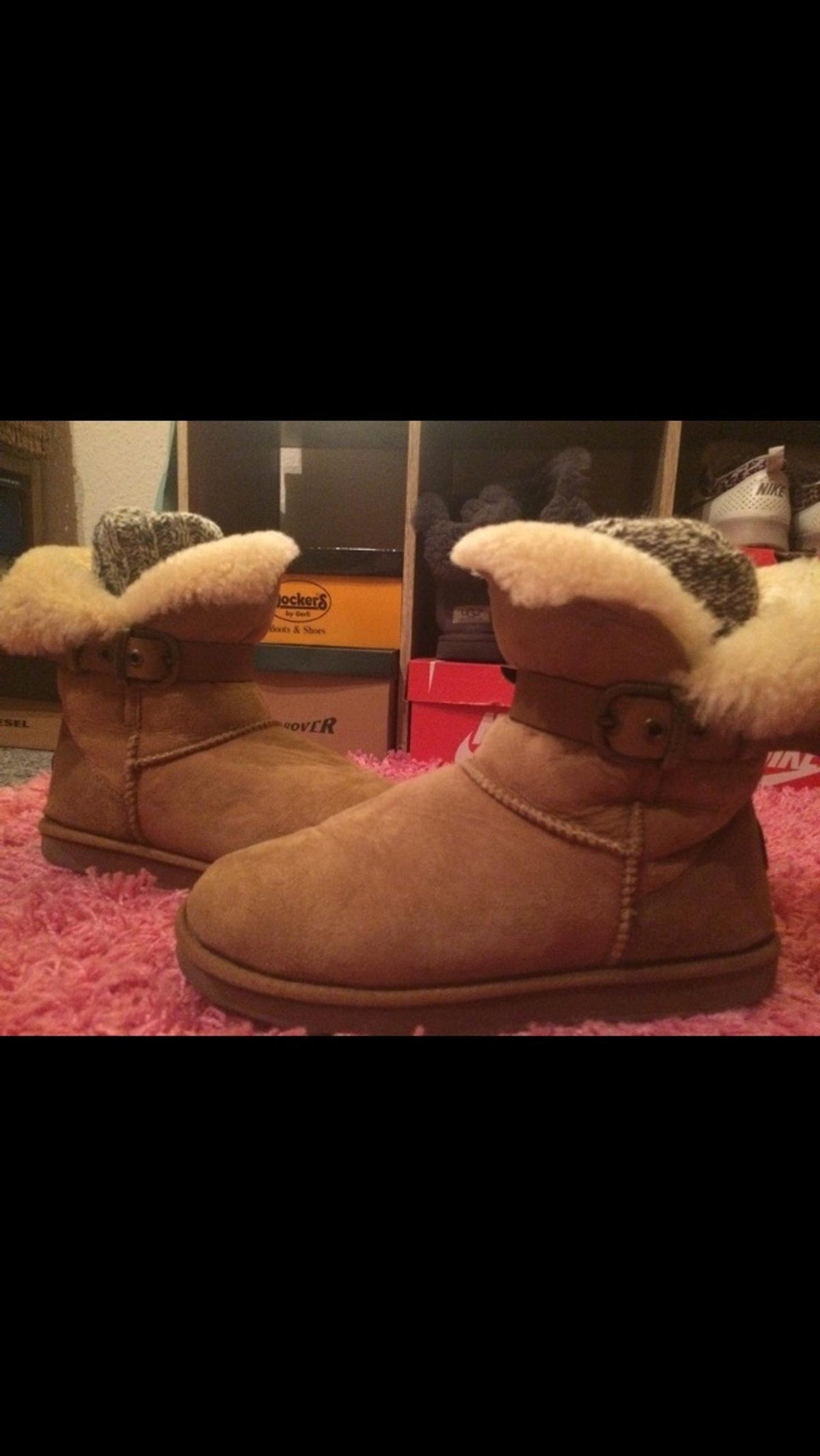 EMU Boots in beige mit Schnalle in 42349 Wuppertal for