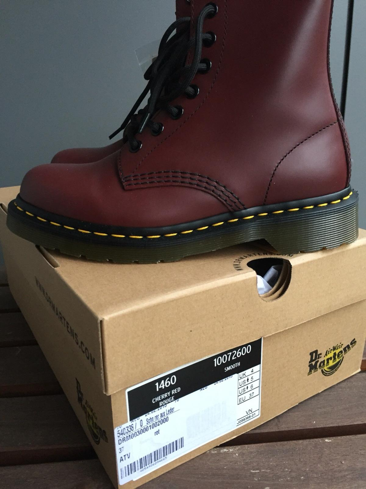 NEU: Dr. Martens Gr. 37 Eye Boot Smooth rot