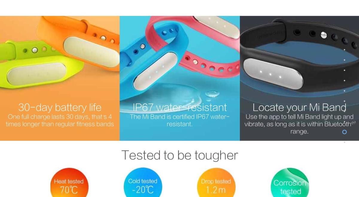 Fitness band with heart rate! Xiaomi Mi band in LS6 Leeds for £20 00