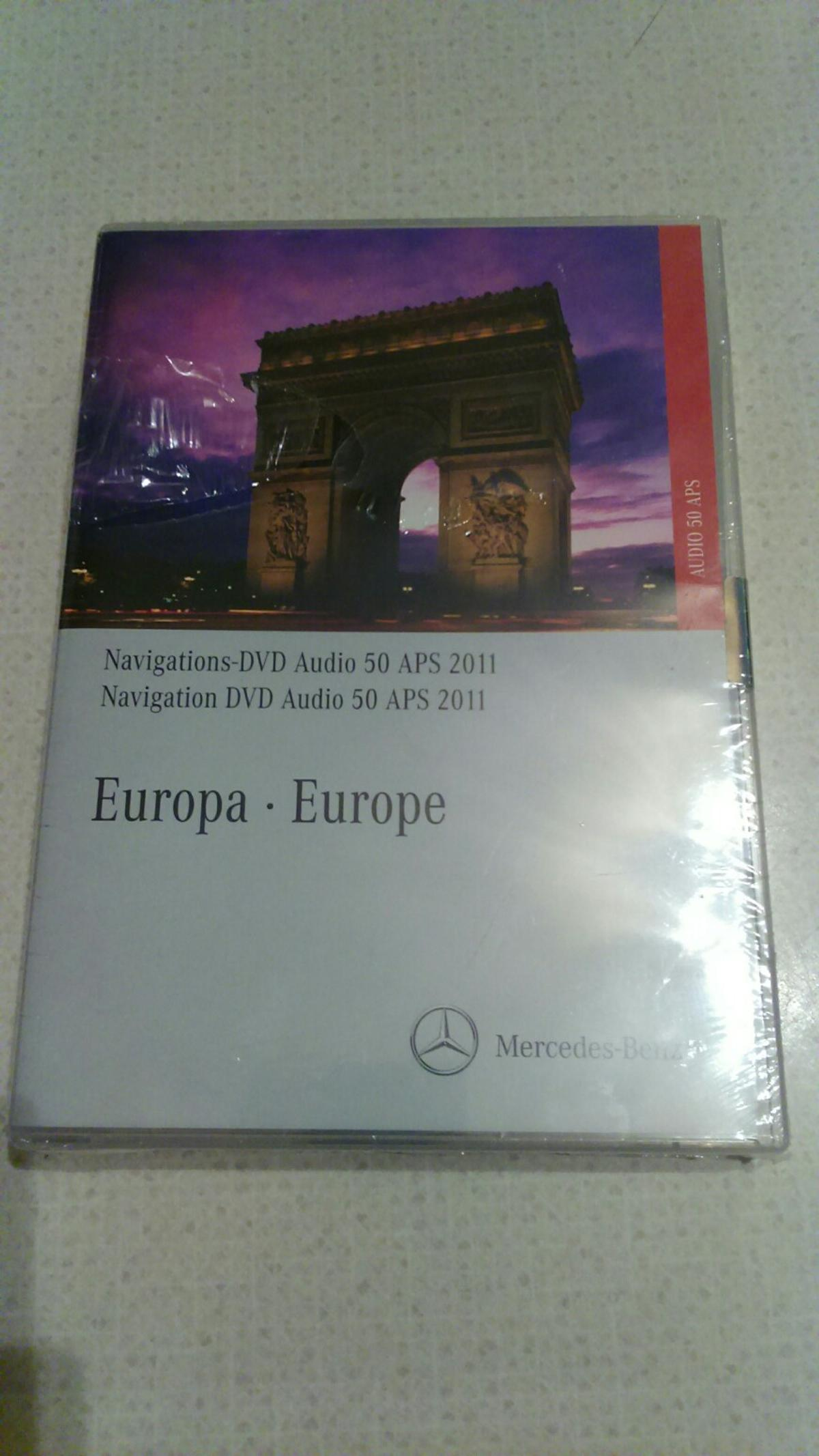 Mercedes Benz Europe Audio 50 Sat Nav DVD